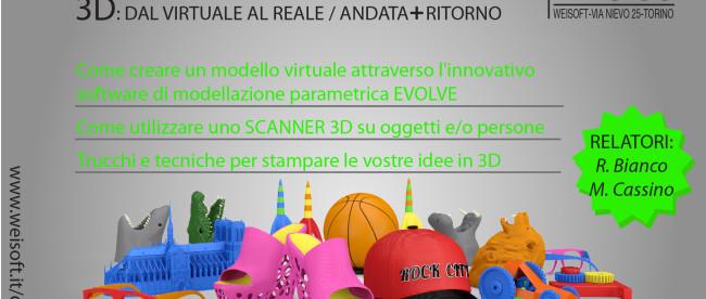 3d: dal virtuale al reale